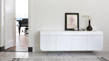 Design dressoir in hoogglans wit