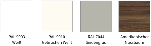 Farbstellungen Sideboard