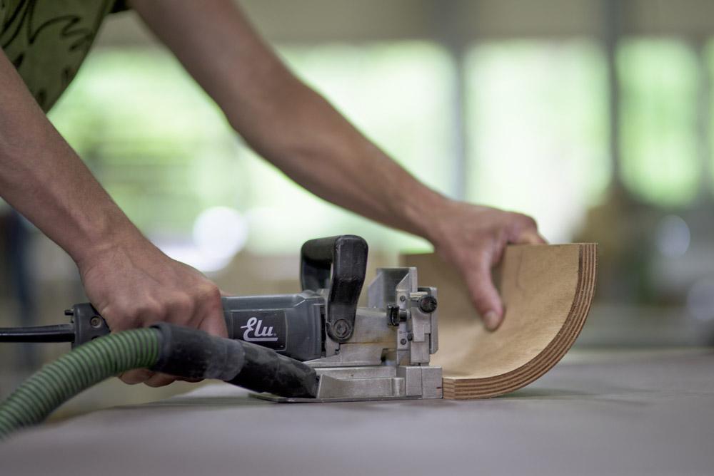 Möbel Bauer moderner design schreibtisch rknl möbelstudio
