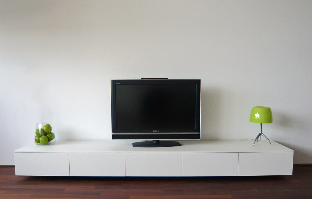 The media console Sharp is a modern designer media console that ...