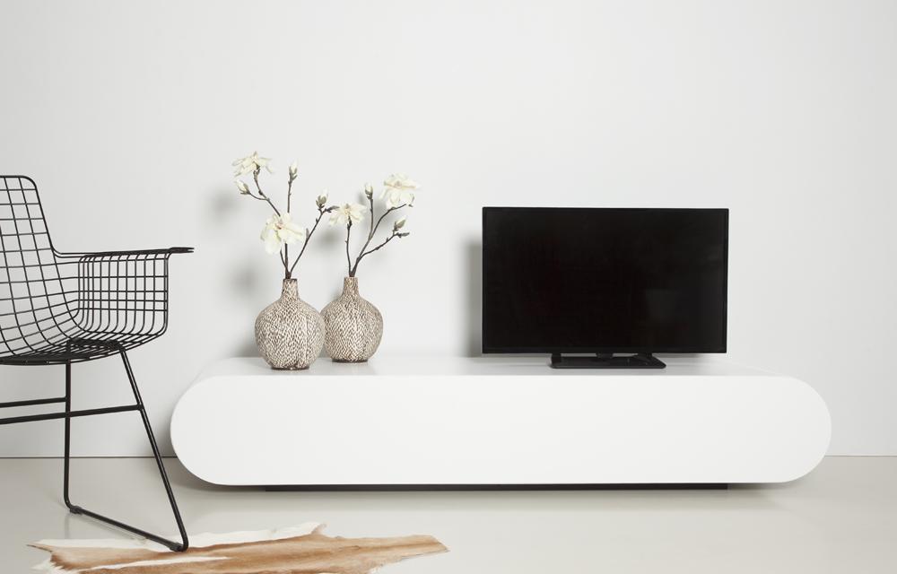 meuble tv blanc Résultat Supérieur 50 Unique Meuble Tv Arrondi Pic 2018 Hyt4