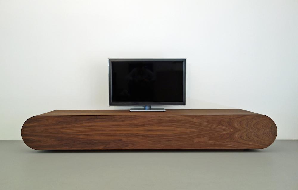 design tv meubel notenhout  rknl meubelstudio, Meubels Ideeën