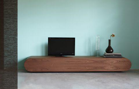 meuble tv en noyer