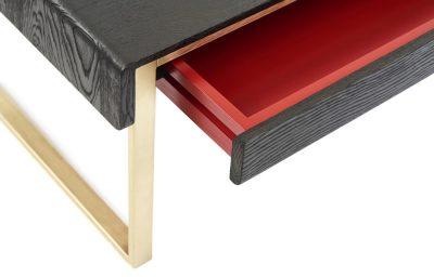shou-sugi-ban coffee table
